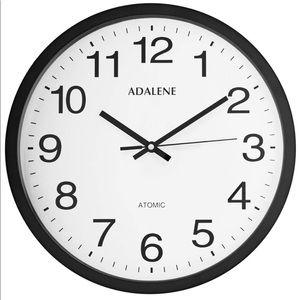12 Inch Large Atomic Wall Clock Analog Display